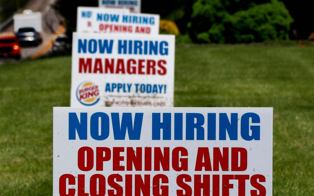 The great US jobs disaster: no silver lining after 40m apply for benefits