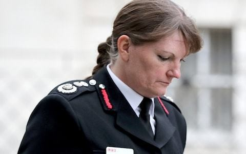 London fire chief admits 'stay put' advice was not suitable for Grenfell as she calls on government to update advice