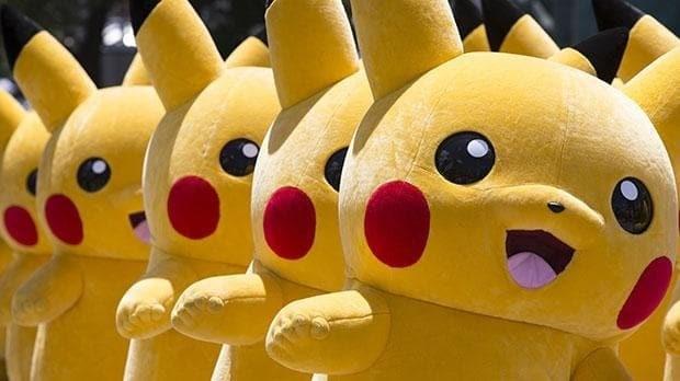 Thousands of Pikachus parade through Pokémon festival