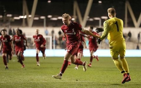 Liverpool crowned FA Youth Cup winners after beating Manchester City on penalties