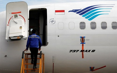 Indonesia's Garuda cancels Boeing 737 Max 8 order after crashes