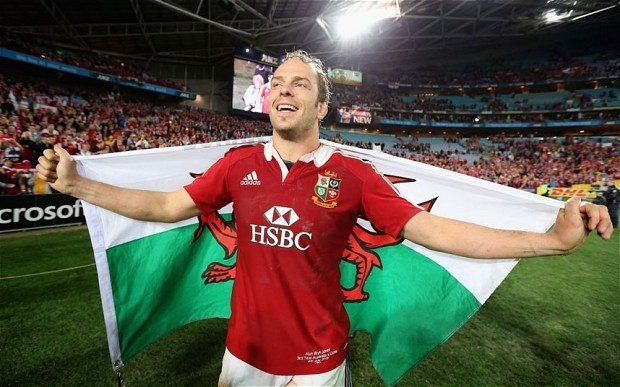 Ospreys lock Alun Wyn Jones is not one for looking back on summer's glories with British and Irish Lions