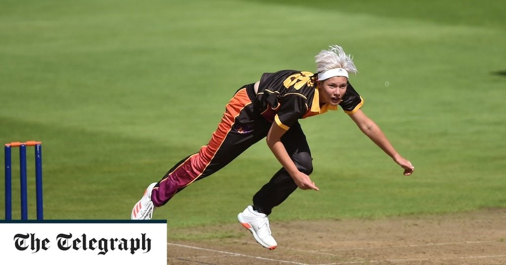 Meet Issy Wong - the tearaway teenager who could break the 80mph barrier in women's cricket