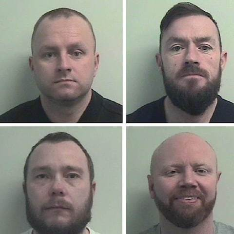 Six men jailed for 104 years after trying to turn Glasgow into 'war zone'