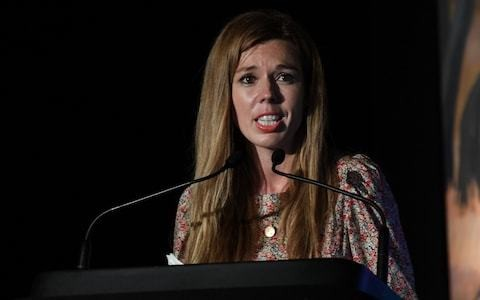 Carrie Symonds takes aim at puffin killers in first public outing