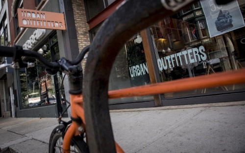 Urban Outfitters 'disappointed' as sales decline continues