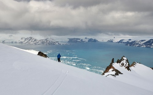 The final frontier of extreme skiing: Antarctica