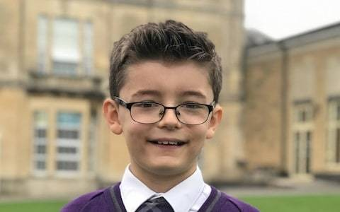 Ten-year-old boy believed to be the youngest Briton to recite Pi to 220 places