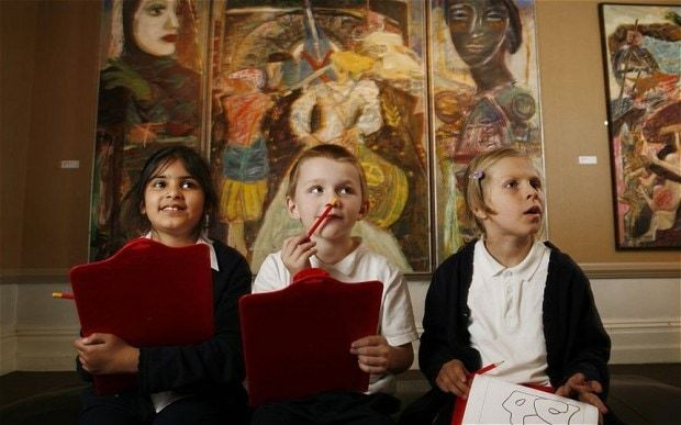 Children in museums: it's the parents who need training