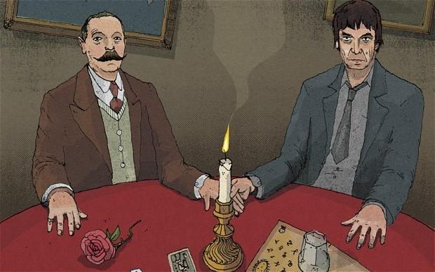 When Ian Rankin met Arthur Conan Doyle: An extract from Dead Interviews
