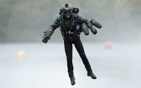 The former BP oil trader trying to build a business for his Iron Man-style jet suit