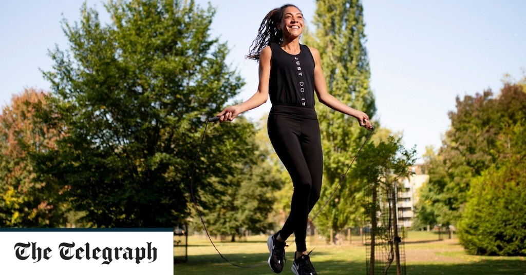 'I have rekindled my love affair with the humble skipping rope'