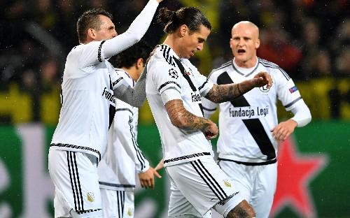 Borussia Dortmund and Legia Warsaw's record-breaking goal glut - in pictures