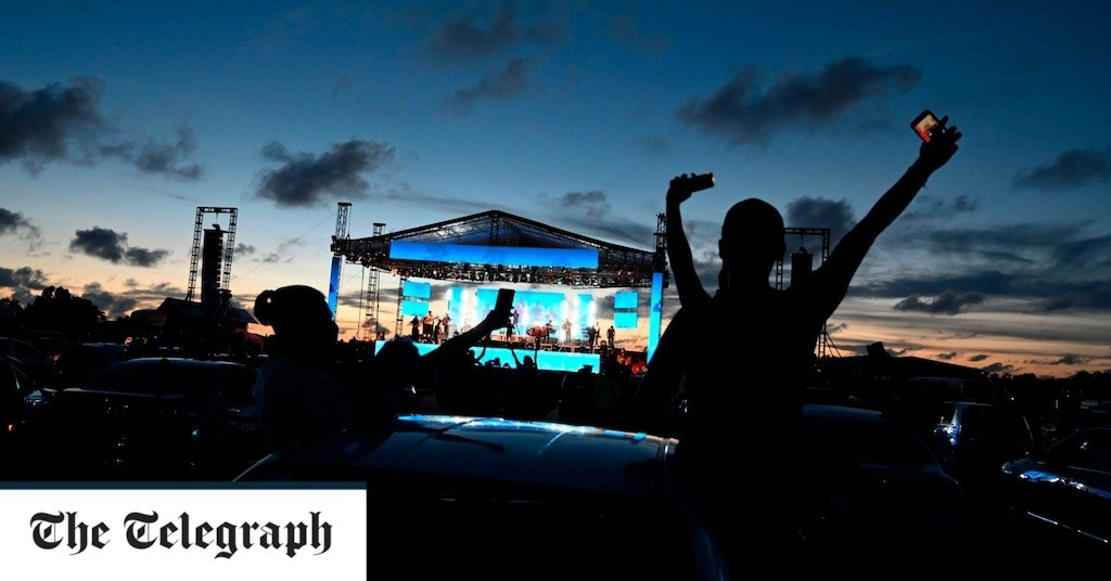 The best open air concerts and drive-in gigs to enjoy socially distanced live music