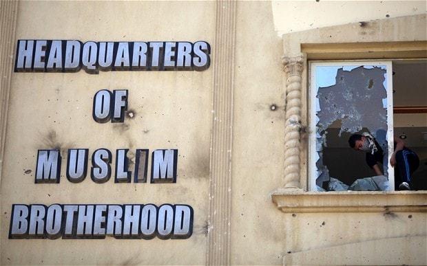 Egypt court disbands Muslim Brotherhood