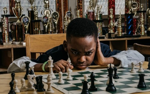 Homeless Nigerian refugee, 8, touted as chess prodigy after becoming one of America's top players