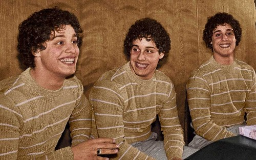 Three Identical Strangers, the incredible story of triplets separated by science for 19 years who found each other