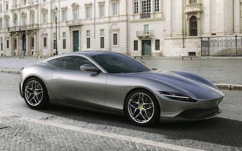 Ferrari Roma revealed: new 199mph coupé has its sights set on Aston Martin's Vantage