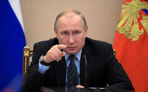 Vladimir Putin accuses the West of destabilising the Balkans as Russia seeks greater influence