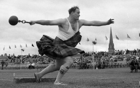 Bill Anderson, Scotland's 'King of the Heavies' who dominated Highland games for more than three decades – obituary