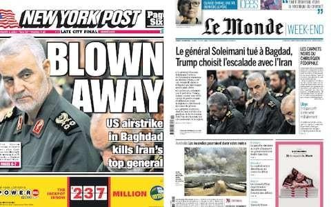 'Treacherous criminal aggression': How the world reacted to Qassim Soleimani's killing