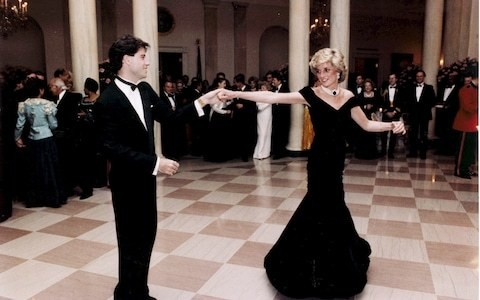 Princess Diana's Travolta dress sells for £264,0000