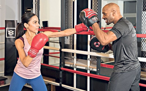 Fighting fit at 50: how boxing helped me cope with divorce and bereavement