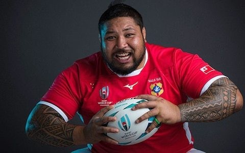 Cancer survivor, roofer and the Rugby World Cup's biggest player: Meet the Tongans who sacrifice whatever it takes to represent Ikale Tahi