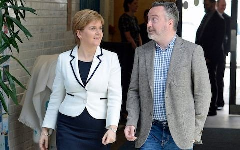 SNP's lead European election candidate says he is open to euro in independent Scotland