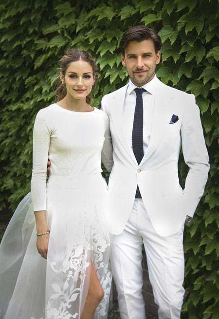 Olivia Palermo and her husband are the shiny new faces of Crème de la Mer