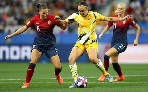 Arsenal sign an Australian star of their own as Caitlin Foord arrives to give them boost in title race