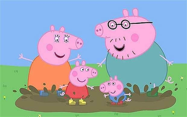 How Peppa Pig could be making your children fat