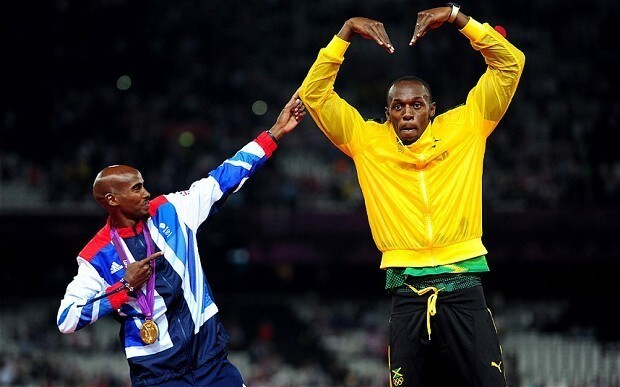 Mo Farah and Usain Bolt head shortlist for 2013 World Athlete of the Year award