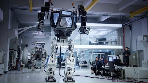 Giant Avatar-style robot takes first steps in South Korea