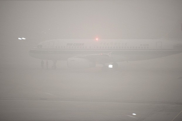 Beijing issues second ever 'red alert' ahead of thick smog