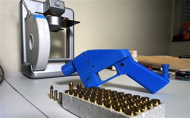 '3D printed gun' discovered by police