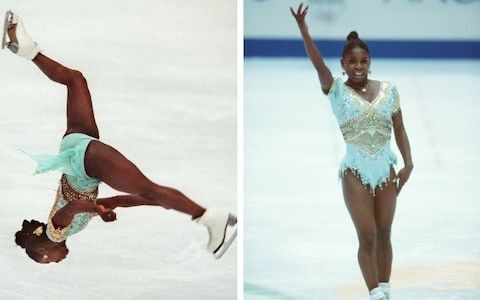 Moment In Time: February 1994, Surya Bonaly's illegal figure-skating backflip