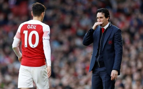 Unai Emery is not at fault for Arsenal shambles - blame the board, Wenger and Ozil instead
