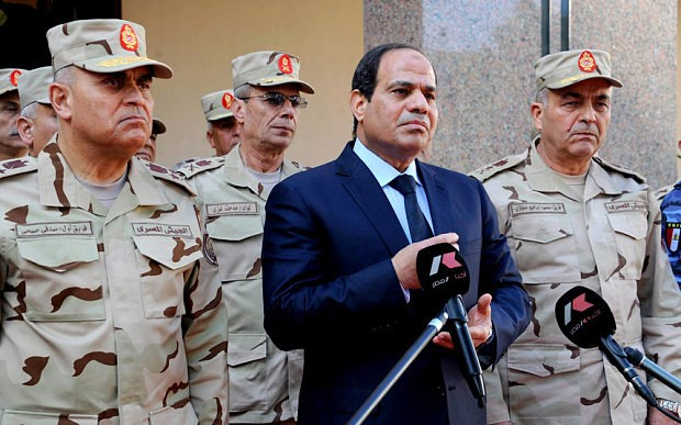 Egypt's military rise to power 'partly bankrolled by Emirates', audio recording suggests