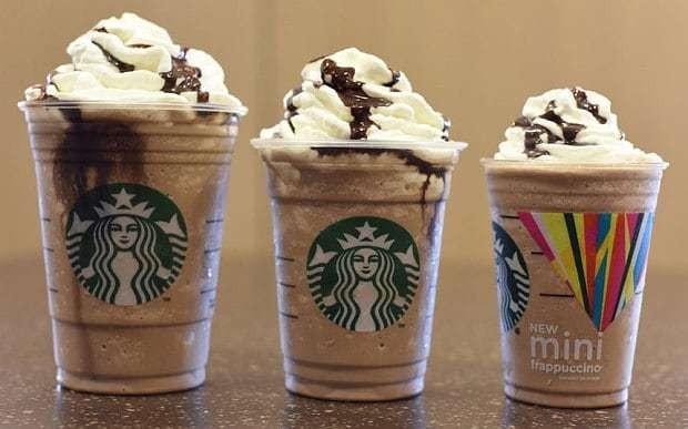 Starbucks launches 'mini-Frappuccinos'