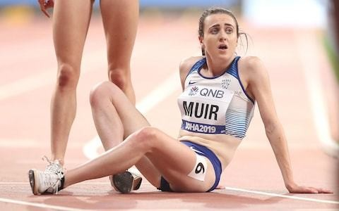 Laura Muir targets Olympics after battling for fifth as former Alberto Salazar runner Sifan Hassan wins second gold in impressive time
