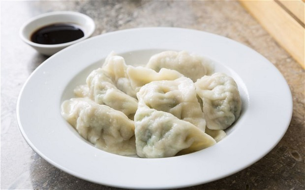 Traditional Chinese dumplings for Chinese New Year recipe