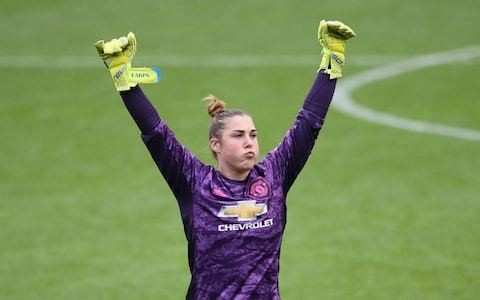 Manchester United's Mary Earps reveals her goalkeeping idols as she urges fans to bring the noise ahead of derby