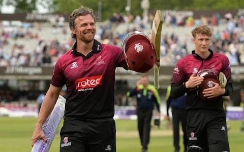 'I was absolutely loving it - it's why you play isn't it?': James Hildreth basks in glory of ending Somerset's long wait for silverware