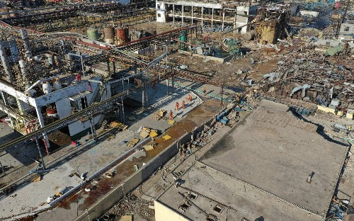 Chinese chemical plant explosion kills 47, injures 640
