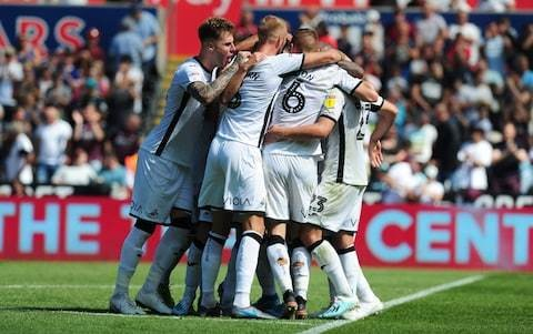 Swansea sweep past Birmingham to maintain unbeaten league home record in 2019
