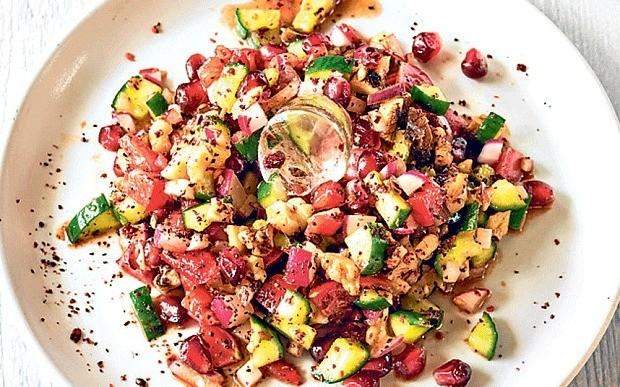 Turkish Gavurdagi salad recipe