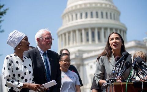 'Squad members' Alexandria Ocasio-Cortez and Ilhan Omar endorse Bernie Sanders in 2020 race