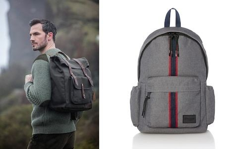 Are you too old to wear a backpack? Not if you choose one of these designs