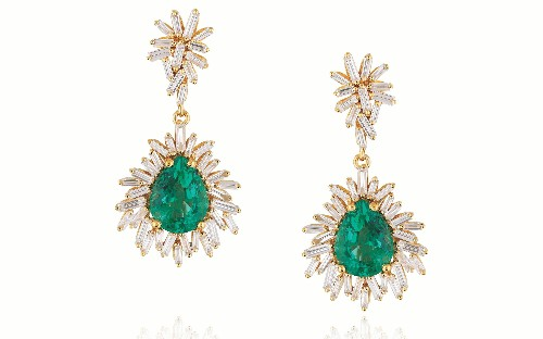 Statement earrings for New Year's Eve and beyond